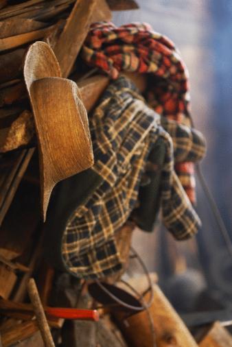 タータンチェック「Clothing hanging」:スマホ壁紙(15)