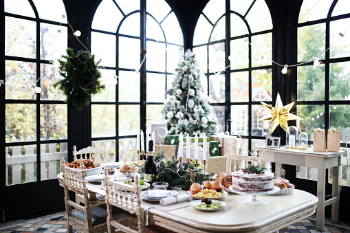 Place Setting「Home Christmas decoration」:スマホ壁紙(18)