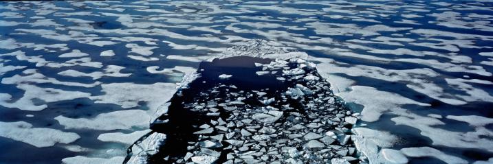 Ice-breaker「Russian Arctic, prow of icebreaker in ocean」:スマホ壁紙(2)
