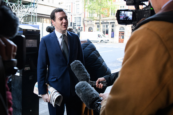 Evening Standard「The Former Chancellor George Osborne Arrives At The Evening Standard Newspaper For His First Day As Editor」:写真・画像(18)[壁紙.com]