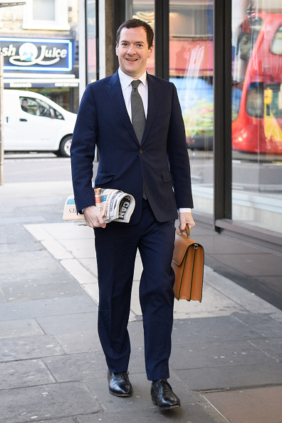 Evening Standard「The Former Chancellor George Osborne Arrives At The Evening Standard Newspaper For His First Day As Editor」:写真・画像(4)[壁紙.com]