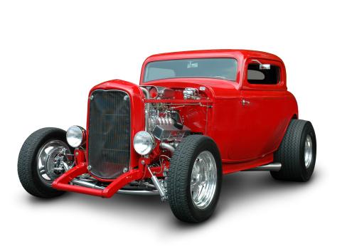 Hot Rod Car「Classic 1932 Ford Hot Rod」:スマホ壁紙(9)