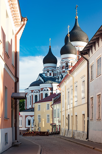 UNESCO「Orthodox Alexander Nevsky Cathedral in Tallinn from 1900, Estonia」:スマホ壁紙(12)