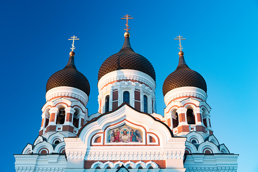 UNESCO「Orthodox Alexander Nevsky Cathedral in Tallinn from 1900, Estonia」:スマホ壁紙(19)