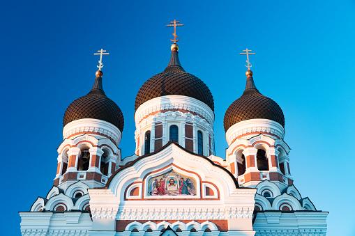 UNESCO「Orthodox Alexander Nevsky Cathedral in Tallinn from 1900, Estonia」:スマホ壁紙(12)