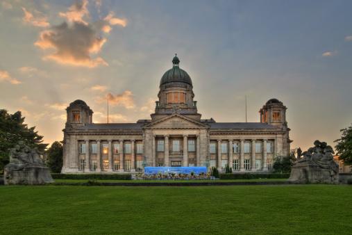 High Dynamic Range Imaging「Hamburg, Germany, District Court Building」:スマホ壁紙(9)