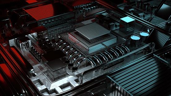 CPU「Computer Brain Technology」:スマホ壁紙(16)