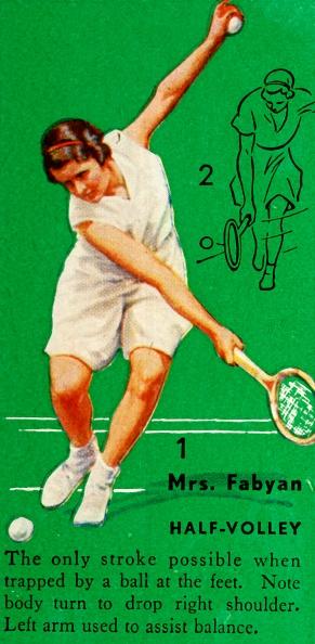スポーツ用品「Mrs Fabyan - Half-Volley」:写真・画像(10)[壁紙.com]