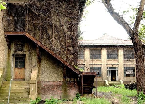 Overgrown「Ellis Island Hospital Complex To Be Restored」:写真・画像(5)[壁紙.com]