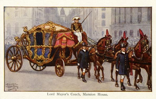 City Life「Lord Mayor 's Coach, Mansion House, 1911」:写真・画像(13)[壁紙.com]