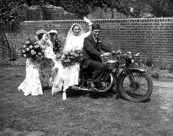 Wedding Dress「Bride On A Bike」:写真・画像(8)[壁紙.com]
