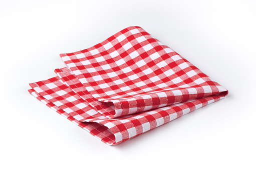 Napkin「Red and white tea towel」:スマホ壁紙(0)