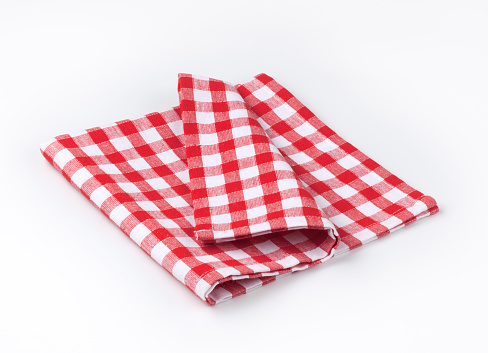 Napkin「Red and white tea towel」:スマホ壁紙(3)
