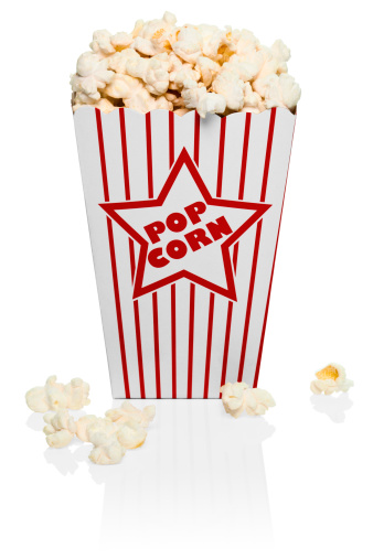 英字「Red and white stripped box of popcorn」:スマホ壁紙(14)
