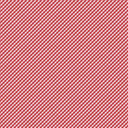 Tartan check「レッドとホワイトのギンガム模様のテーブルクロス」:スマホ壁紙(11)