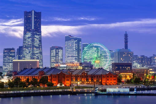 Yokohama「The Skyline of Yokohama」:スマホ壁紙(7)