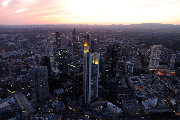 Frankfurt - Main「European Banks Face Climate Of Growing Unease」:写真・画像(9)[壁紙.com]