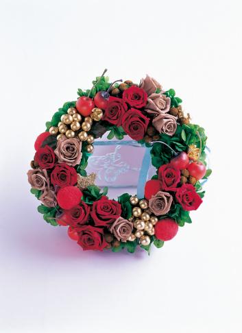 薔薇「Wreath of roses」:スマホ壁紙(5)