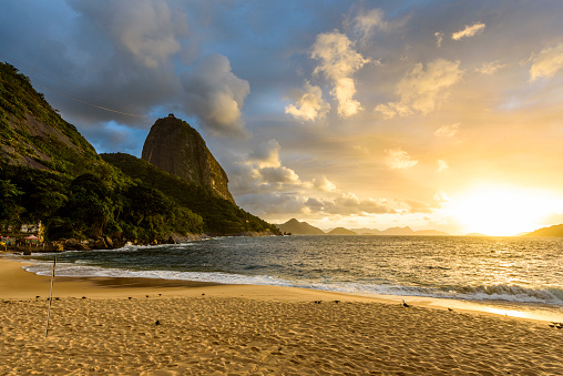 Brazil「Praia Vermelha Beach Located Next To Sugar Loaf Mountain, Urca」:スマホ壁紙(11)