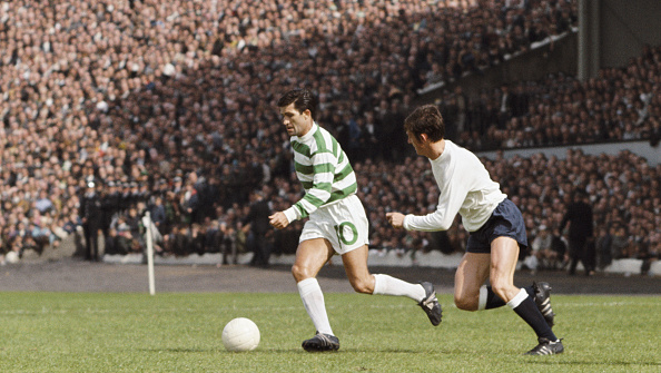 Club Soccer「Bertie Auld Celtic v Tottenham Hotspur August 1967」:写真・画像(19)[壁紙.com]