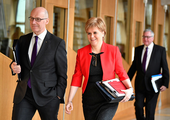 Politics and Government「Holyrood To Debate Call For Second Referendum」:写真・画像(0)[壁紙.com]