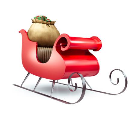 Sled「Santa's Sleigh」:スマホ壁紙(5)