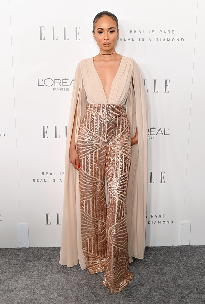 人体部位「ELLE's 24th Annual Women in Hollywood Celebration presented by L'Oreal Paris, Real Is Rare, Real Is A Diamond and CALVIN KLEIN - Arrivals」:写真・画像(5)[壁紙.com]