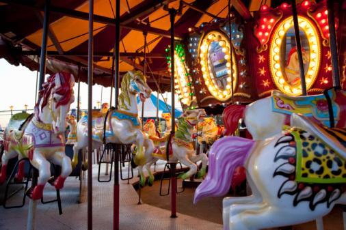 Merry-Go-Round「Coney Island carousel」:スマホ壁紙(16)