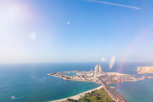Island「UAE, Abu Dhabi, artificial island」:スマホ壁紙(14)