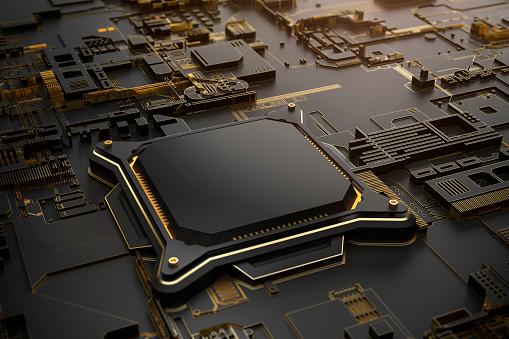 Circuit Board「Artificial ingelligence cpu empty - landscape」:スマホ壁紙(1)