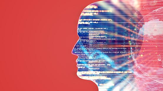 Neuroscience「Artificial Intelligence concept」:スマホ壁紙(5)