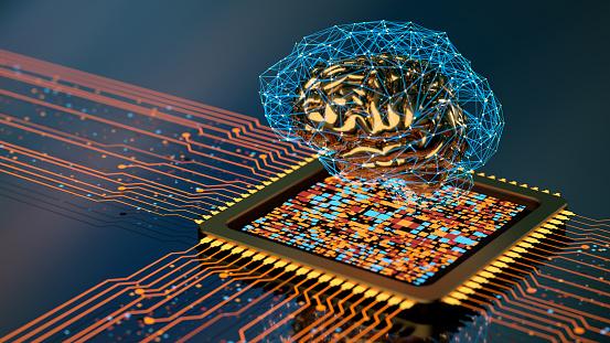 Neuroscience「Artificial Intelligence concept」:スマホ壁紙(4)