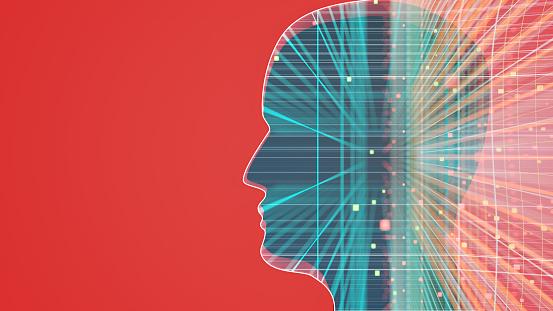 Neuroscience「Artificial Intelligence concept」:スマホ壁紙(7)