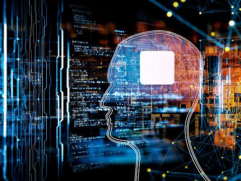 Big Data「Artificial Intelligence concept」:スマホ壁紙(9)