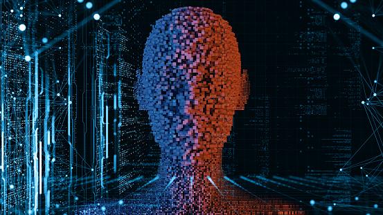 Neuroscience「Artificial Intelligence concept」:スマホ壁紙(6)