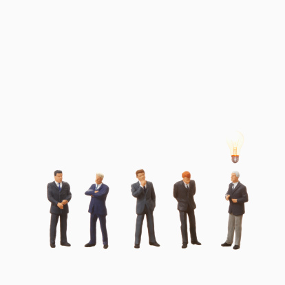Figurine「Artificial businessmen,standing」:スマホ壁紙(0)