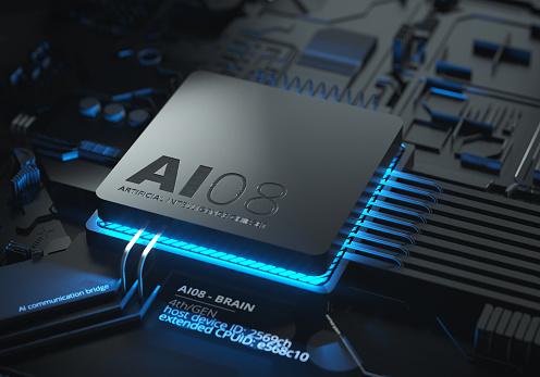 Quantum Computing「Artificial Intelligence Chipset」:スマホ壁紙(1)