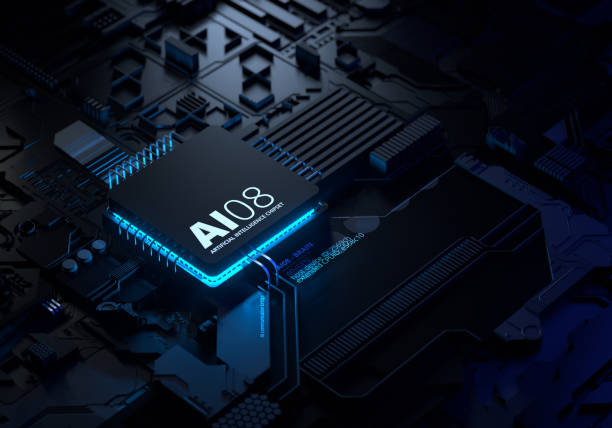 Artificial Intelligence Chipset:スマホ壁紙(壁紙.com)