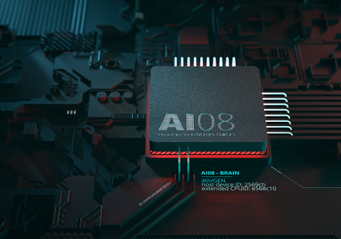 Quantum Computing「Artificial Intelligence Chipset」:スマホ壁紙(4)