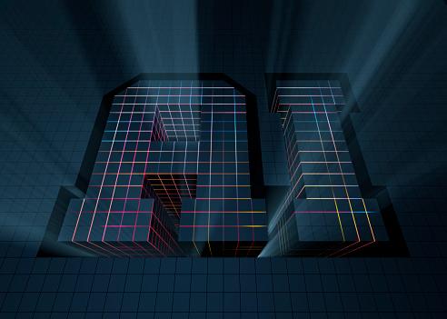 Quantum Computing「AI - artificial intelligence」:スマホ壁紙(5)