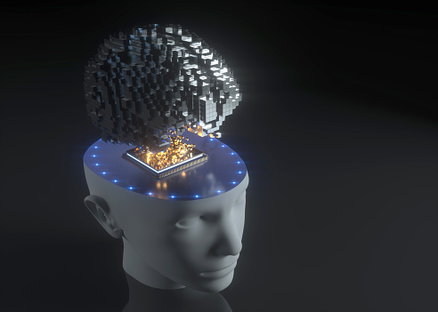 Neuroscience「Artificial Intelligence Technology」:スマホ壁紙(5)