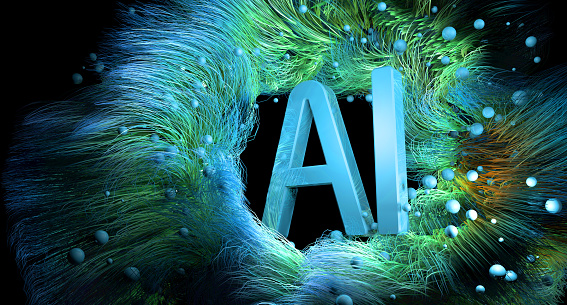 Neuroscience「Artificial Intelligence Technology」:スマホ壁紙(7)
