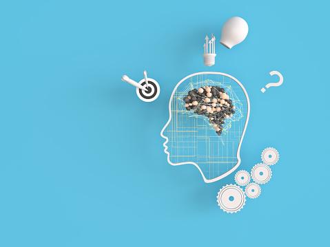 Neuroscience「Artificial Intelligence digital concept」:スマホ壁紙(2)