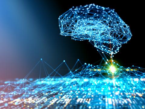 Neuroscience「AI Artificial Intelligence digital concept」:スマホ壁紙(13)