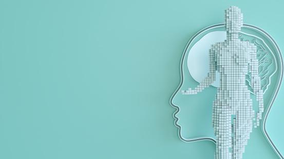 Neuroscience「Artificial Intelligence digital concept」:スマホ壁紙(11)