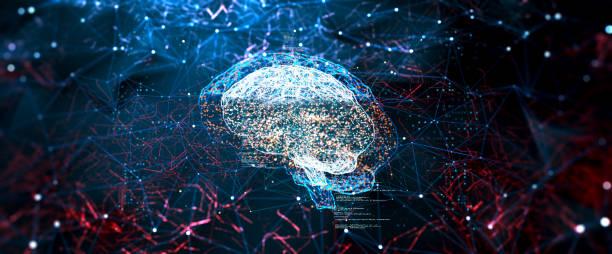 Artificial Intelligence digital concept:スマホ壁紙(壁紙.com)