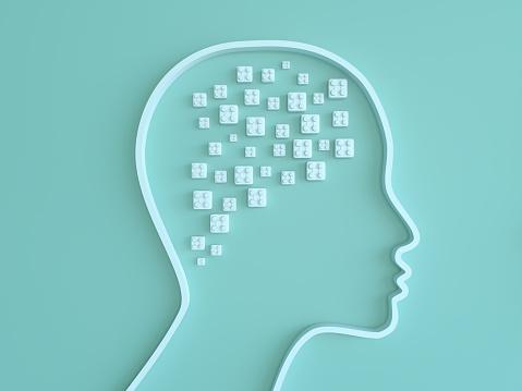 Neuroscience「Artificial Intelligence digital concept」:スマホ壁紙(0)