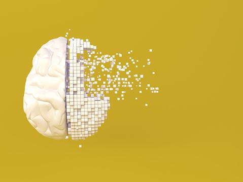 Number「Artificial Intelligence digital concept」:スマホ壁紙(18)