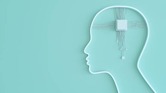 Neuroscience「Artificial Intelligence digital concept」:スマホ壁紙(5)