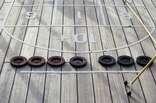 Cruise - Vacation「Shuffleboard on Caribbean Cruise」:スマホ壁紙(0)